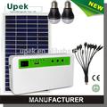 Nuevo diseño casa solar panel kit, iluminación solar en casa kit