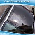 sino de etiqueta de alta qualidade alto brilhante preto carro teto solar de protecção de carro wrap