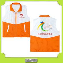 Custom Mens Promotional Printed or Embroidery sleeveless Jacket Vest