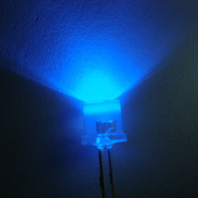 Super Bright Blue 5mm Flat Top LED(CE&RoHS Compliant)