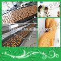 plc controle automático multifunções máquinas para fazer a linha de biscoitos