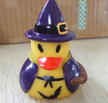 Promotional cheap christmas tree hat floating christmas duck