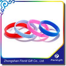 Bulk cheap silicone wristband / debossed Silicone bracelet/ Custom silicone wristband