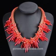 wholesale 2015 fashion costume necklace jewelry PW3438