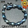 pujiang cristal perles fabricant perles pour lustre en verre en forme de poisson