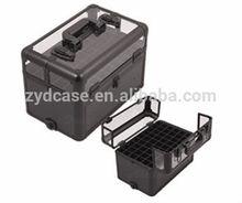 china lipstick makeup divider box beauty organizer aluminum cosmetic box