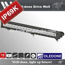 "IP69K 30"" single row, 180w high quality single row led light bar for Jeep"