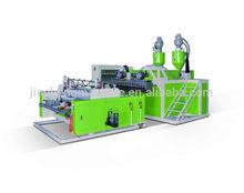 SLW-1000X2 double screw extrusion stretch film/cling film machine