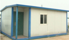 Factory price sandwich panel house with elegant style container house OEM ODM prefabricated house