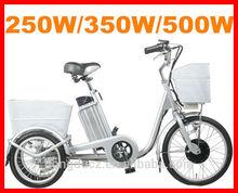 2014 New EEC Mini Vespa Trike 3 Wheel Kick 36v/48v battery Electric Bicycle /E-bike