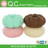 Creative Donut shaped plastic candy box storage