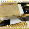 24k gold plated diamond housing for iphone 5s Gold plated crystals , for iphone 5s 6 diamond gold housing