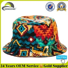 2015 Reversible Custom Bucket Hats Bulk/Custom Printed Bucket Hats