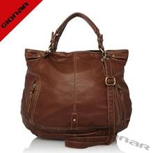 Distressed lady leather bag | vintage style genuine leather bag | wholesale OEM designer bags