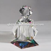 Hot Selling Wedding Souvenir Clear Crystal Perfume Bottle