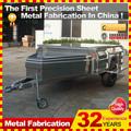 profesional del piso suave off road camper fabricante del remolque con 32 años de experiencia