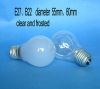 clear&frosted Incandescent Bulb