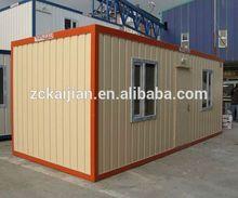 modular close side 20ft portable european container house