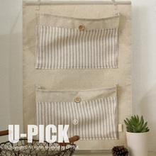 UPICK 2014 jumbo canvas fabric storage bags