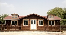 2014 new designer cheap wooden houses romania natural style