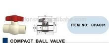 Cheap Price CPVC Compact Ball Valve ASTM D2846