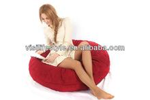 Designable party use foam sac bean bag cushion furniture