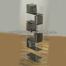 magazine holder-y13092313/shelf/furniture/office furniture/document shelf/6 tiers magazine holder/floor acrylic book stand