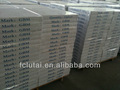 Carreaux de plafond suspendu anti affaissement ignifuge imperméable à l'eau acoustique. perforé. blanc, boispeint gaufrage impression 600/595/603/1200