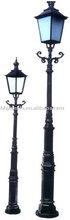 cast iron street lamp post