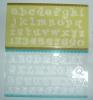 plastic letter Stencil