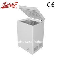 portable top open chest freezer, commercial deep freezer BD-100