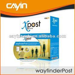 wayfinderPost Digital Signage Software for Direction Guiding