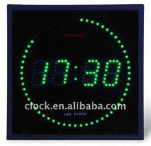 Square LED Digital Clock