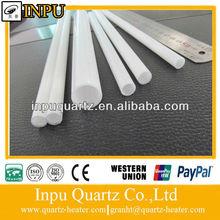 milky white quartz glass tube