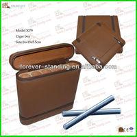 WinePackages Cigar Case,leather cigar case,wooden cigar case
