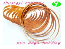 plain-colored pvc edge banding strip for furniture