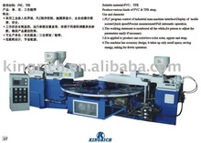 PVC three strap molding machine