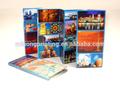 Fábrica luxary personalizados de impresión de la revista, catálogo, la impresión del catálogo