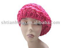 fashion lady acrylic beret