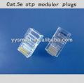 Rj45 cat5e stecker utp/patch stecker
