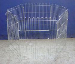 metal folding wire rabbit enclosure / pet fence / dog playpen