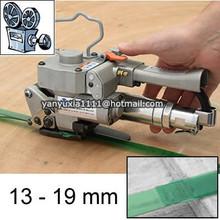 Handheld Pneumatic PET/polyester Strapping Banding Machine Tool 13-19MM
