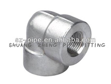 Forged High Pressure Pipe Fittings Threaded Sus Elbow
