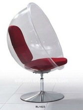 modern design standing acrylic bubble chair