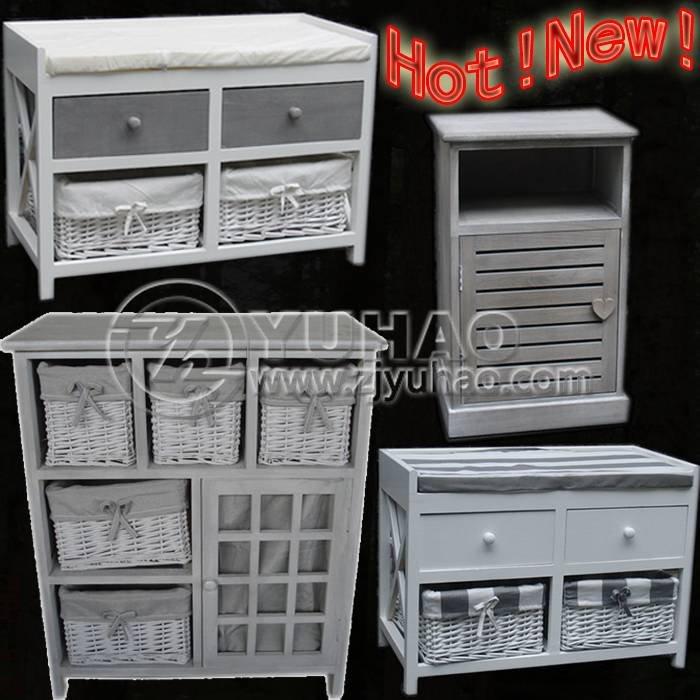 meubles rangement avec paniers. Black Bedroom Furniture Sets. Home Design Ideas