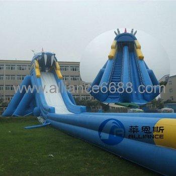 dragon water slide big water slide for sale