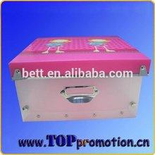 Wholesale non woven fabric foldable Children storage box