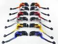 de aluminio ajustable de freno y la palanca del embrague para motos super para yzf r6 03 04 05 r1 00 01 02 03 04 05
