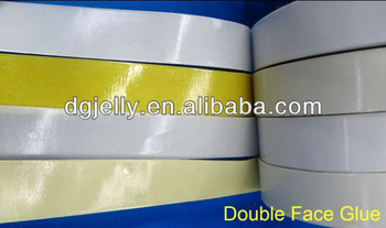 Embroidery double side adhesive