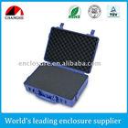 Hard plastic tool case for equipment